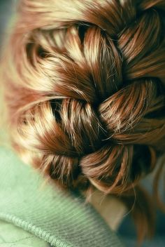 pretty up do with braid