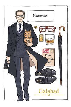 "Galahad AKA Gary 'Eggsy' Unwin from ""Kingsmen"" Colin Firth, Kingsman Movie, Kingsman Harry, Kingsman The Secret Service, Taron Egerton, Book Tv, Cultura Pop, Gentleman Style, Movies Showing"