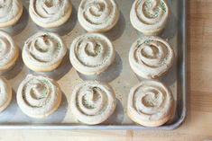 Sour Cream Vanilla Cupcakes with Whiskey Maple Buttercream from Cupcake Royale via Edible Seattle