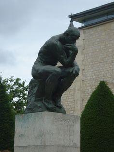 Paris - Musee Rodin - Le Penseur