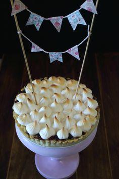 Cook the cake: Tarta de arándanos, crema de almendras y merengue. ¡¡Sorteo 2º Aniversario de Cook the cake!!