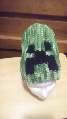 Minecraft inspired slouch hat by Purplecatzcrochet on Etsy Pictures Of Hats 7781237e22cb