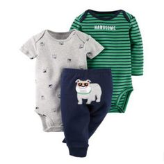 Original kids  bebes Baby Boys Girls Clothings Sets, newborn infant boy Baby Models (Bodysuits+Pants) Set hot sell
