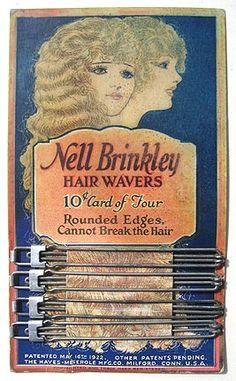 Metal hair wavers