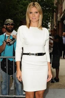 Heidi Klum Praises Katie Holmes' Clothes
