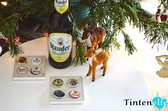 Blog Tintenelfe.de - Untersetzer aus Beton mit Kronkorken. Anleitung dazu auf meinem Blog #beton #concrete #kronkorken #geschenk