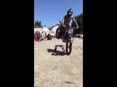Pro dirt bike parking