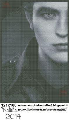 Twilight saga Edward - schema by Natalia http://www.liveinternet.ru/profile.php?journalid=3850751&all_a=1