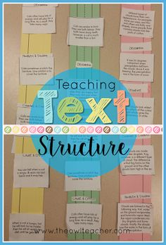 Nutrition lessons activities Do you need to spice up teaching text structure in reading? I have plenty of ideas and teaching activities to make it easy! Reading Workshop, Reading Skills, Teaching Reading, Teaching Activities, Reading Strategies, Teaching Ideas, Reading Resources, Guided Reading, Reading Games