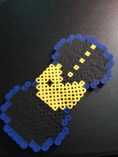 Pac Man Perler Bead Bow by HandMadeWLoveDesigns on Etsy