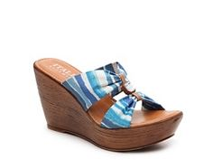 Italian Shoemakers Nara Wedge Sandal