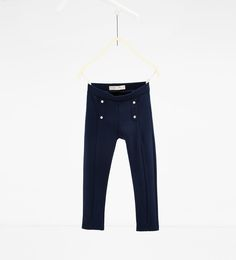 ZARA - KIDS - BUTTONED TROUSERS