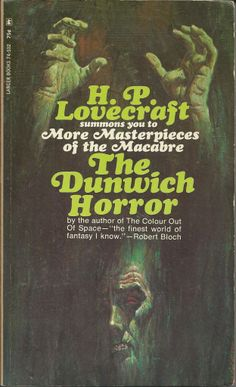 Lovecraft - one of the greats Classic and traditional Gothic horror at its best.