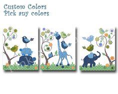 Hey, I found this really awesome Etsy listing at https://www.etsy.com/uk/listing/476897625/blue-elephant-decor-blue-giraffe-nursery