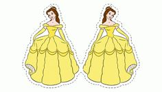 Belle - PRINCESS BELLE FROM THE BEAUTY AND THE BEAST and COLORING PAGES