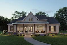 Porch House Plans, Rustic House Plans, Simple House Plans, Basement House Plans, Family House Plans, Modern Farmhouse Exterior, Cottage House Plans, Craftsman House Plans, Best House Plans