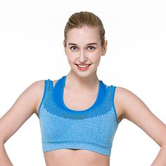 0e9524984 Sports Bra High Stretch Breathable Top Fitness Women Padded for Running  Yoga Gym Seamless Crop Bra Gradient Sport Bra