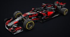 Porsche And Red Bull Racing F1 Car Is Oh-So Tempting #F1 #Motorsport