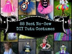 88 of the Best No-Sew DIY Tutu Costumes