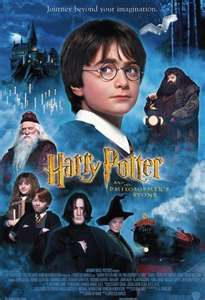 The entire Harry Potter series
