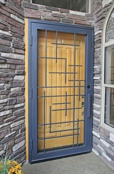 Tetris Security Screen Door