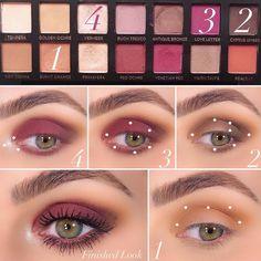 Makeup Kit, Skin Makeup, Eyeshadow Makeup, Beauty Makeup, Modern Renaissance Palette Looks, Anastasia Modern Renaissance Looks, Makeup Palette, Eyeshadow Palette, Renaissance Makeup