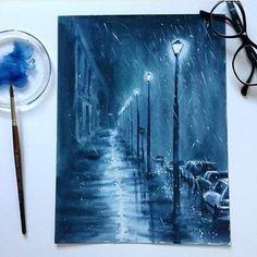 ilustra_orgHermoso cuadro de Mariya @mamabelle_art #art #creative #artist #ilustra_org