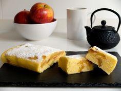 Pastel de manzana en microondas