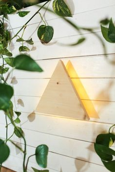 Triangle String Light Wall Sconce! — The Sorry Girls