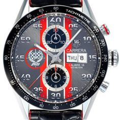 Tag Heuer Men's Carrera Day Date Goodwood Festival Watch CV2A1J.FC6301 from Steffans Jewellers
