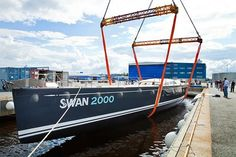 #SYFreya was completed in 2012 at #Nautor'sSwan facility in Pietarsaari #Finland.   A remarkable 90-ft #sailingyacht, SYFreya was the 2000th @SawnYacht to be built! A high-performance vessel she is at home both in the world of competitive racing in some of the world's most prestigious #regattas, as she is cruising in the waters around the #caribbean or #mediterranean. #metalfabrication for #yachts www.vcmetalwork.com