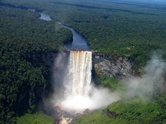 Catarata Kaieteur, Guyana