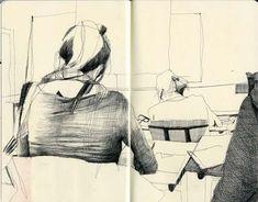 Фотография Sketch Journal, Artist Journal, Sketchbook Pages, Life Drawing, Drawing Sketches, Art Drawings, Moleskine, Illustrations, Illustration Art