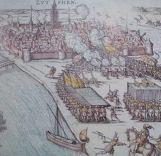 Na Mechelen vernietigden Spaanse soldaten al het leven in Zutphen. De opstandelingen moesten er van de hertog van Alva goed van doordrongen raken dat niet met de koning in Spanje valt te sollen. Naarden zou hierna nog worden uitgemoord.