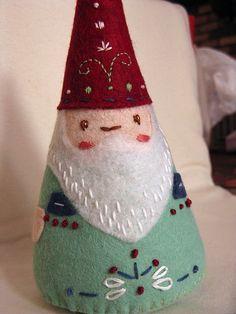Felt Gnome Santa 3