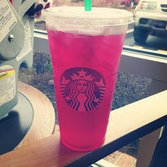 Passion tea lemonade!!!  My favorite! Add two pumps of raspberry and it will send you over the moon!