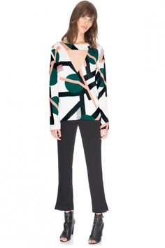 C/MEO COLLECTIVE ALL CRIED OUT LONG SLEEVE SPOT SHIRT