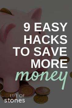 With these easy hacks, saving money won't take a whole lot of effort.