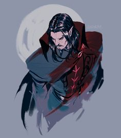 """endrae: """" I was so frustrated with the Dracula miniseries that during it ended up doodling an actual good version of him, so yeah enjoy """" Castlevania Dracula, Castlevania Anime, Castlevania Netflix, Castlevania Games, Alucard, Character Inspiration, Character Art, Character Design, Video Game Characters"""