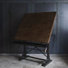 Industrial Drafting Table Iron base