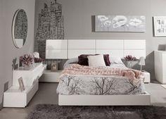 Swan dormitorio c/comoda - Kenay Home