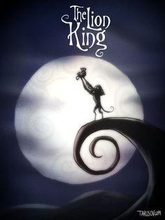 Así es como se verían tus películas infantiles favoritas si Tim Burton las hubiera hecho