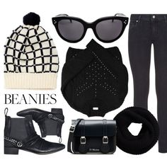 How To Wear Cold Weather Look Outfit Idea 2017 - Fashion Trends Ready To Wear For Plus Size, Curvy Women Over 20, 30, 40, 50