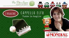 Speciale Natale - Cappellino Elfo (tutte le taglie) #cappello elfo #elf hat #per filo e segno #video tutorial uncinetto #idee per natale #natale uncinetto #christmas ideas