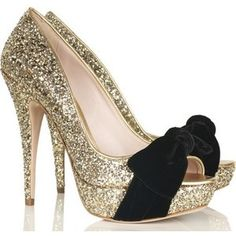 for a special evening #shoes #glitter