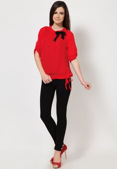 Solids Red Top at $28.31 (24% OFF)