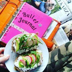 Bullet Journal, zdrowe wege śniadanie, planowanie pracy. Fresh Rolls, Bullet Journal, Ethnic Recipes, Instagram, Food, Essen, Yemek, Meals