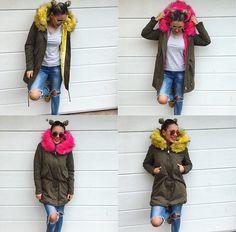 Posledné kusy zo zimných teplučkých bundičiek dodanie do 24.hod veľ.zo žltej ML veľ.z ružovej L v akciovej cene 6990 kúpiš aj na www.tvojstyl.fashion