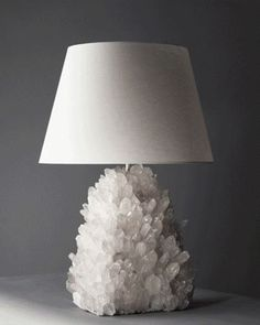 This Rock Crystal Lamp by Liz O'Brien is fabulous!