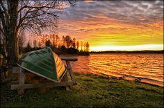 Late autumn on the lake